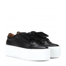 Acne Studios - Women Sneakers Drihanna platform leather sneakers item no.P00309210 FPLNDDY