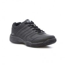 Ascot Mens Black Lace Up Trainer - Men Sneakers 80388 FGTNUQQ