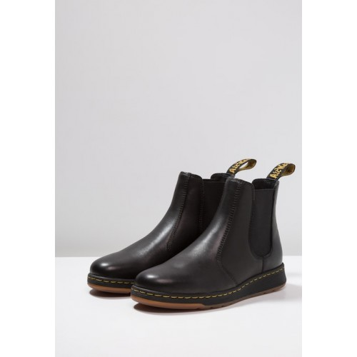 Dr. Martens GRAYSON - Classic ankle boots - black luxor - Womens T-Shirts AGCRNXEJ