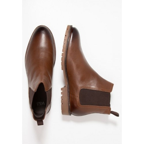 Jacamo CHELSEA BOOT EXTRA WIDE FIT - Classic ankle boots - brown - Womens T-Shirts TRWRBNKU