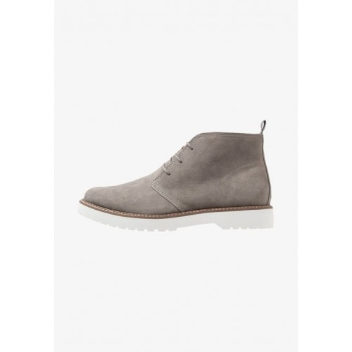 YOURTURN Lace-up boots - grey - Womens T-Shirts IKXFODNH