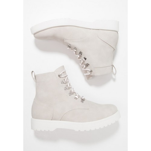 YOURTURN Lace-up boots - grey - Womens T-Shirts KMEMLMVC
