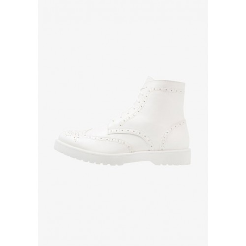 Zign Lace-up boots - white - Womens T-Shirts CBFTDKVX