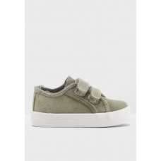 Boy Shoes Minoti Green Kids Canvas Sneaker MI943SH82WNL CYRQGBY