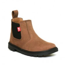 Chipmunks Boys Brown Pull On Chelsea Boot - Boy Shoes 28931 YITXJKN