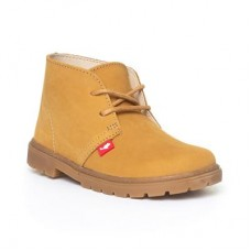 Chipmunks Boys Lace Up Boots in Honey - Boy Shoes 28937 DHHZGCF
