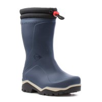 Dunlop Boys Blue Warm Lined Wellington Boot - Boy Shoes 79209 KDYDGXQ