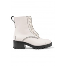 3.1 Phillip Lim   Hayett faux pearl-embellished leather ankle boots   NET-A-PORTER.COM - Women Boots 3.1 Phillip Lim 1084613 LJDUXES
