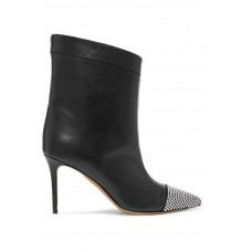 Alexandre Vauthier   Cha Cha crystal-embellished leather ankle boots   NET-A-PORTER.COM - Women Boots Alexandre Vauthier 1073764 GJXDKXZ