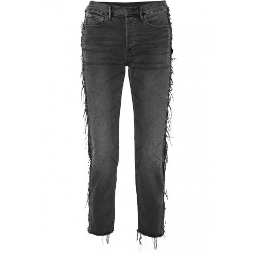 3x1 | W3 Cora cropped distressed high-rise straight-leg jeans | NET-A-PORTER.COM - Women Jeans 3x1 1078265 ZNLRTPL