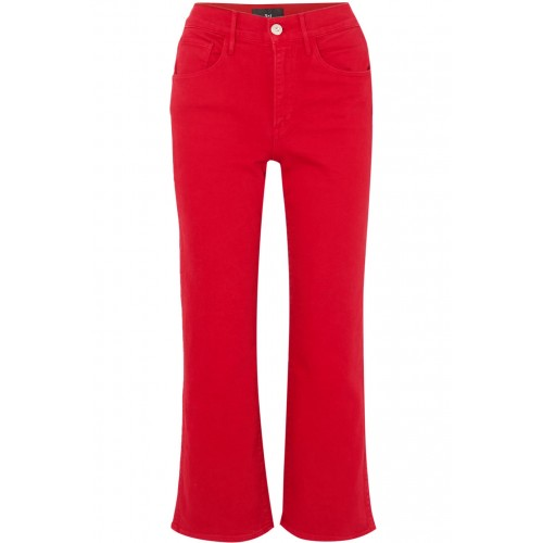 3x1 | W4 Shelter cropped high-rise flared jeans | NET-A-PORTER.COM - Women Jeans 3x1 1074465 ILIRUAA
