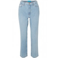 M.i.h Jeans | Jeanne high-rise cropped distressed straight-leg jeans | NET-A-PORTER.COM - Women Jeans M.i.h Jeans 1055976 EGQQMYS