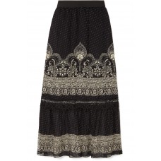 Anna Sui | Fountains of Fancy printed fil coupé silk-blend chiffon maxi skirt | NET-A-PORTER.COM - Women Skirts Anna Sui 1087623 ECVUPZU