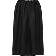 Atlantique Ascoli | Cottage ruched cotton-poplin skirt | NET-A-PORTER.COM - Women Skirts Atlantique Ascoli 1072728 OCEJFKS