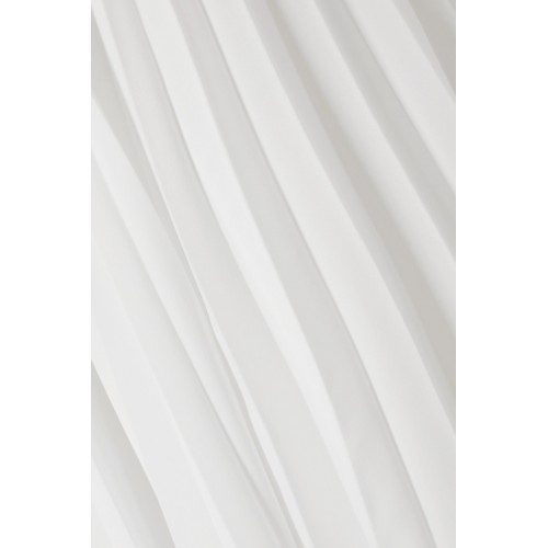 Maggie Marilyn | Safe In Your Arms pleated cotton-blend poplin and crepe wrap-effect skirt | NET-A-PORTER.COM - Women Skirts Maggie Marilyn 1109435 JYVXVJX